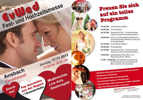 Hochzeitsmesse Ansbach 2013