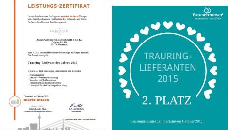 Zertifikat Gerstner und Rauschmayer